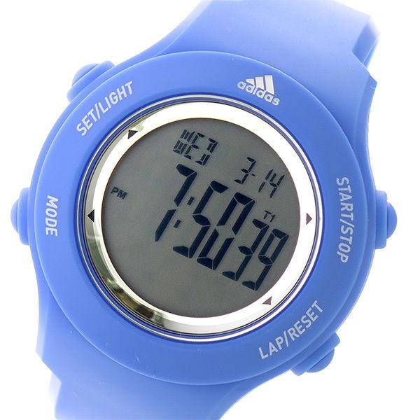 アディダス ADIDAS パフォーマンス スプラング クオーツ ユニセックス 腕時計 ADP3216 液晶/ブルー