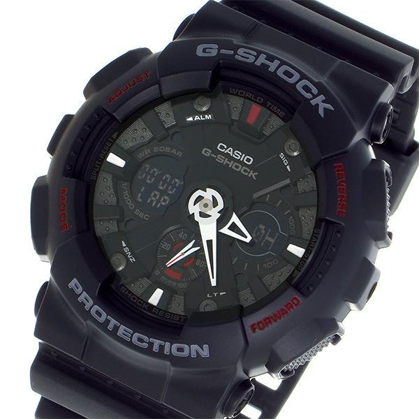 カシオ CASIO Gショック G-SHOCK デジアナ メンズ 腕時計 GA-120-1 ブラック/グレー