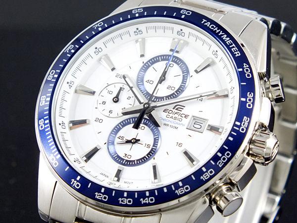 カシオ CASIO エディフィス EDIFICE メンズ 腕時計 EF-547D-7A2V ホワイト