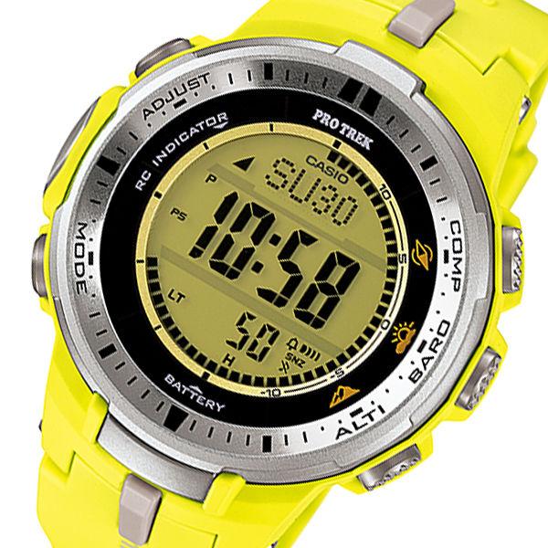 カシオ CASIO プロトレック PRO TREK タフソーラー メンズ 腕時計 PRW-3000-9B イエロー