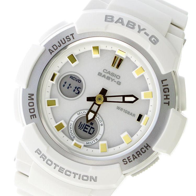 カシオ CASIO ベビーG BABY-G クオーツ レディース 腕時計 BGA-2100GA-7AJF ホワイトシルバー 国内正規