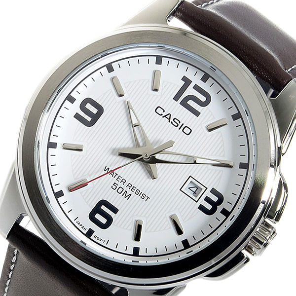 カシオ CASIO クオーツ メンズ 腕時計 MTP-1314L-7A ホワイト