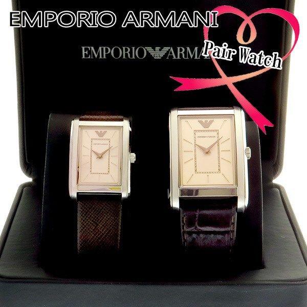 【ペアウォッチ】 エンポリオ アルマーニ EMPORIO ARMANI クオーツ 腕時計 AR9040 ピンクゴールド