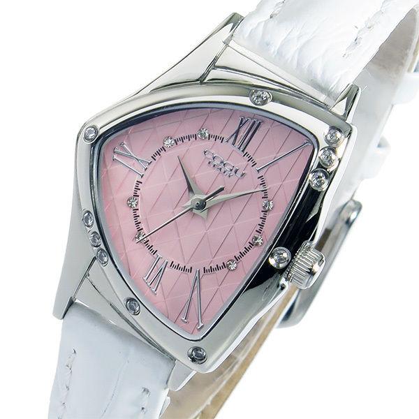 コグ COGU クオーツ レディース 腕時計 BS02T-WPK ピンク