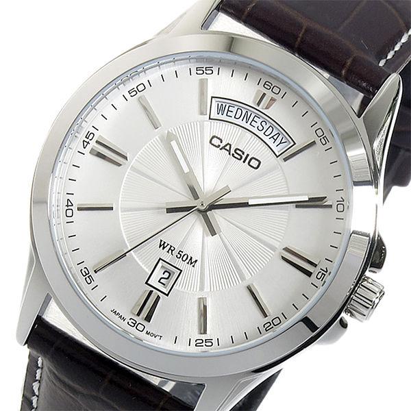 【希少逆輸入モデル】 カシオ CASIO クオーツ メンズ 腕時計 MTP-1381L-7AVDF シルバー