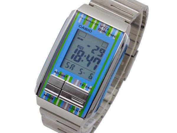 カシオ CASIO フューチャリスト FUTURIST デジタル レディース 腕時計 LA-201W-2C