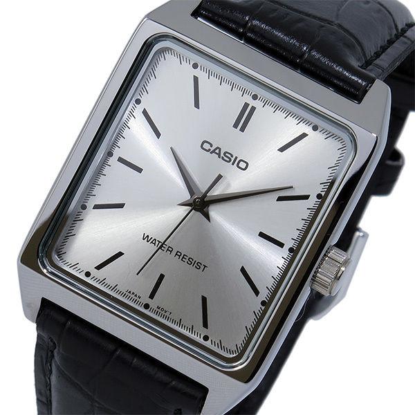 カシオ CASIO クオーツ メンズ 腕時計 MTP-V007L-7E1 シルバー