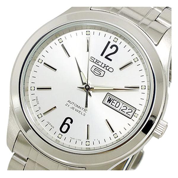 セイコー SEIKO セイコー5 SEIKO 5 自動巻き メンズ 腕時計 SNKM53K1 ホワイトシルバー