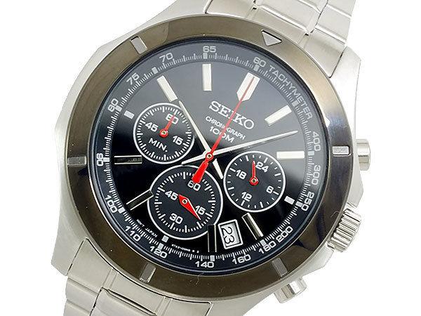 セイコー SEIKO クオーツ メンズ クロノ 腕時計 SSB111P1