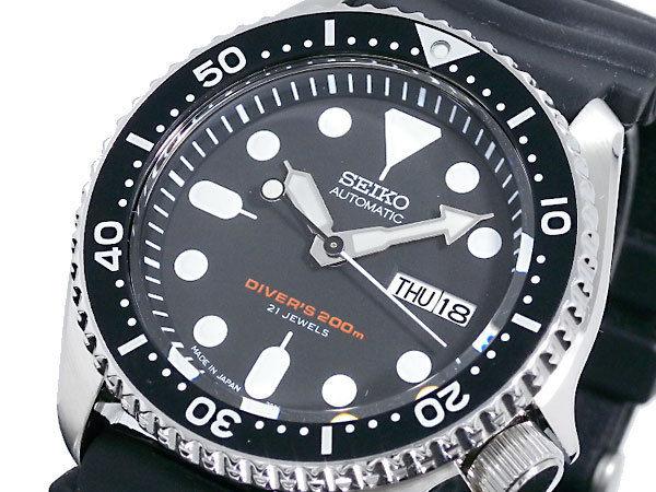セイコー SEIKO ダイバー ブラックボーイ 自動巻き メンズ 腕時計 SKX007J1