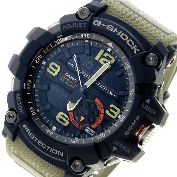 カシオ CASIO Gショック G-SHOCK クオーツ メンズ 腕時計 GG-1000-1A5 ブラック×カーキ