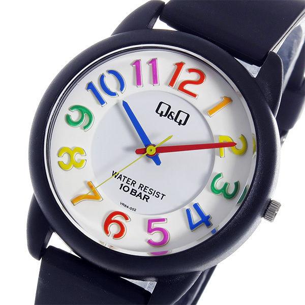 シチズン キューアンドキュー クオーツ ユニセックス 腕時計 VR64-002 ホワイト