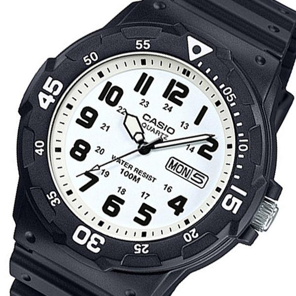 カシオ CASIO クオーツ メンズ 腕時計 MRW-200H-7B ホワイト