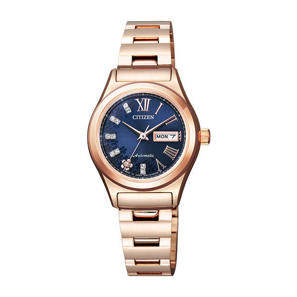 シチズン CITIZEN シチズンコレクション レディース 自動巻き 腕時計 PD7162-55L 国内正規