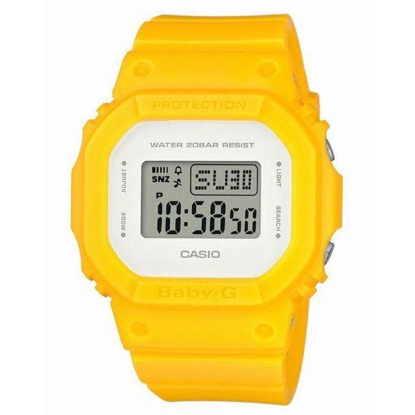 カシオ CASIO ベビーG Baby-G シンプルスタイル アナデジ クオーツ レディース クロノ 腕時計 BGD-560CU-9 液晶/ホワイト