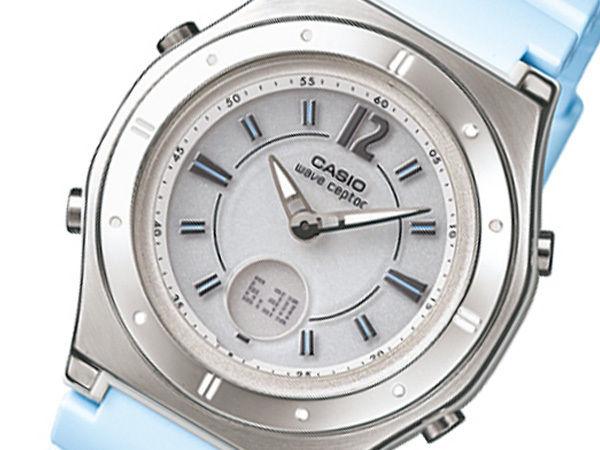 カシオ CASIO WAVECEPTOR ソーラー 電波 レディース 腕時計 LWA-M142-2AJF 国内正規