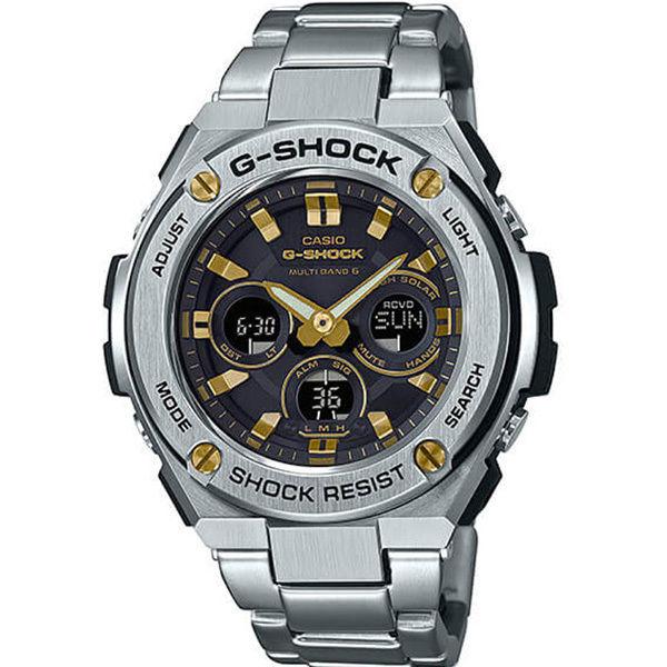 カシオ CASIO Gショック G-SHOCK G-STEEL アナデジ クオーツ メンズ クロノ 腕時計 GST-S310D-1A9 ブラック