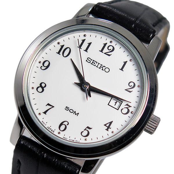 セイコー SEIKO クオーツ レディース 腕時計 SUR823P1 ホワイト