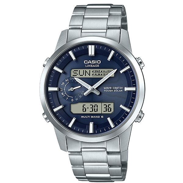 カシオ CASIO 電波時計 メンズ 腕時計 LCW-M600D-2AJF 国内正規