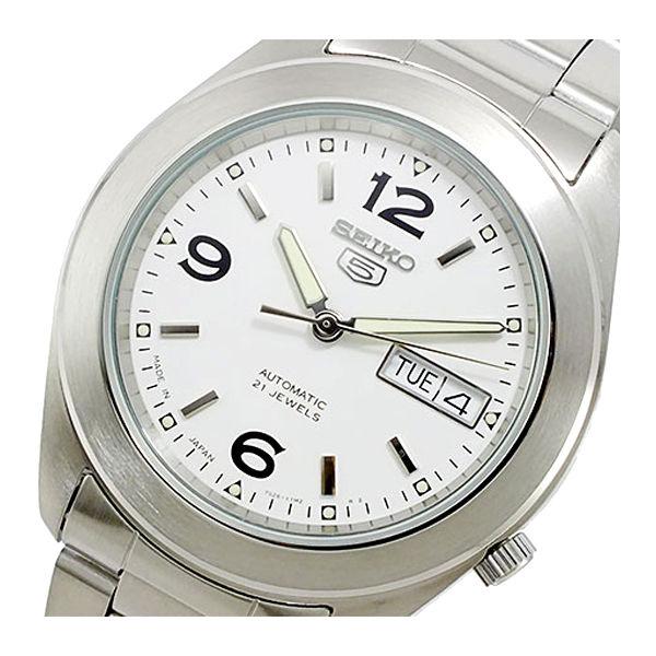 セイコー SEIKO セイコー5 SEIKO 5 自動巻き メンズ 腕時計 SNKM73K1 ホワイト