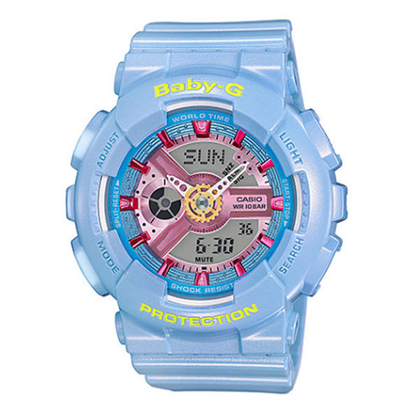 カシオ ベビーG BABY-G クオーツ レディース 腕時計 BA-110CA-2A ブルー