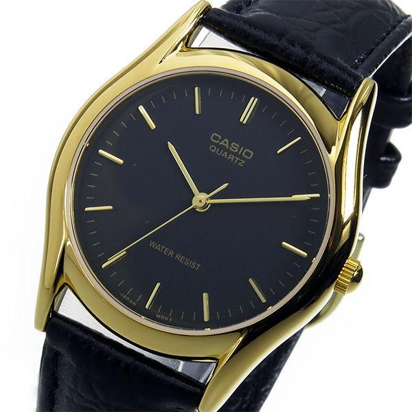 カシオ スタンダード クオーツ ユニセックス 腕時計 MTP-1094Q-1A ブラック