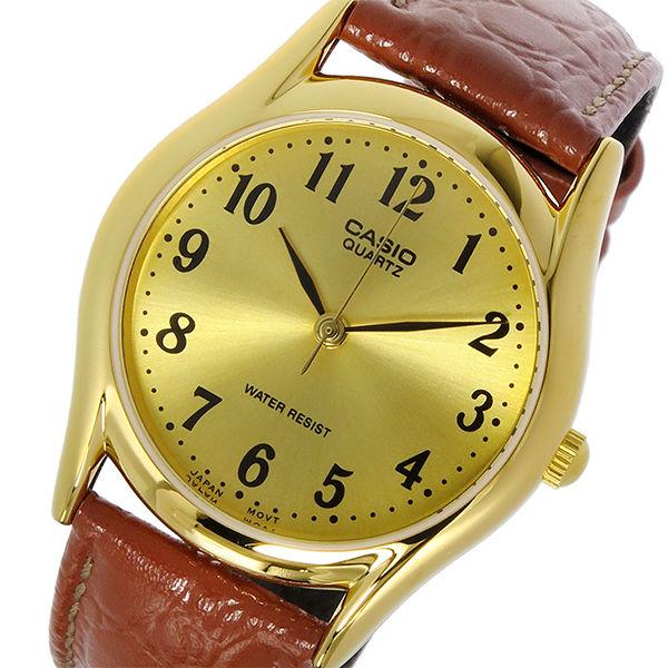 カシオ CASIO スタンダード クオーツ ユニセックス 腕時計 MTP-1094Q-9B ゴールド