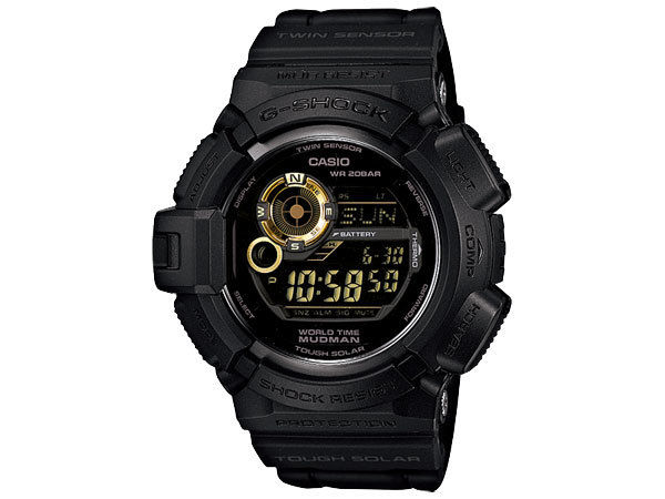 カシオ CASIO Gショック G-SHOCK マッドマン タフソーラー デジタル メンズ 腕時計 G9300GB-1