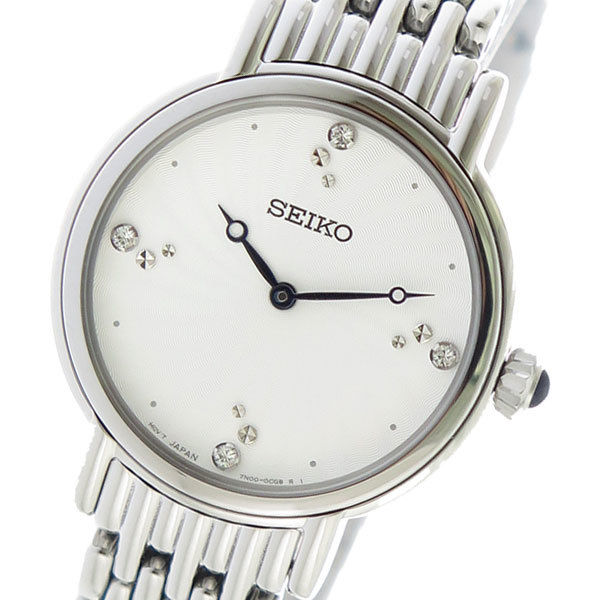 セイコー SEIKO クオーツ レディース 腕時計 SFQ805P1 ホワイト