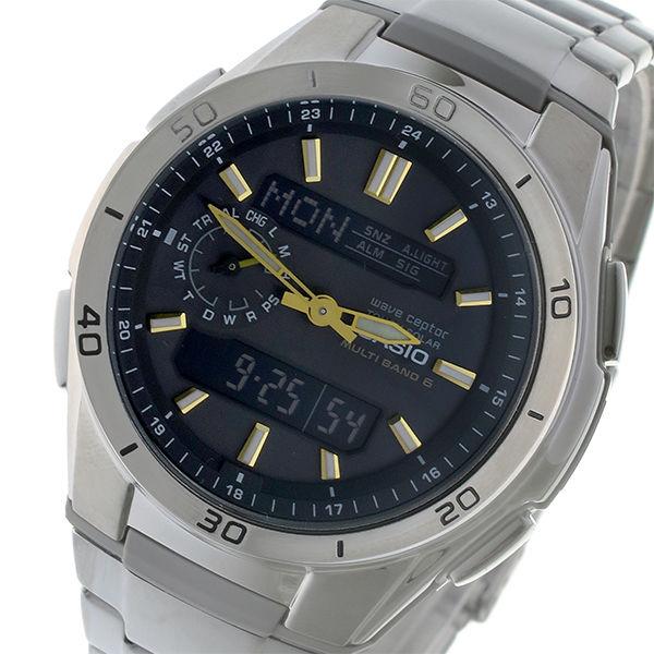 カシオ ウェーブセプター メンズ 電波 腕時計 WVA-M650D-1AJF 国内正規