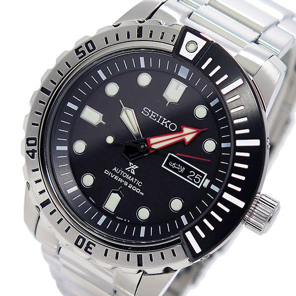 セイコー SEIKO プロスペックス PROSPEX メンズ 自動巻き 腕時計 SRP587K1 ブラック