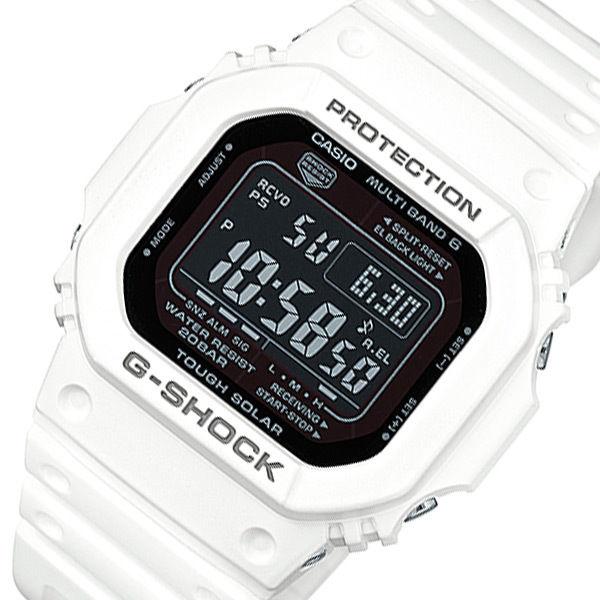 カシオ タフソーラー メンズ 腕時計 電波 GW-M5610MD-7JF ホワイト 国内正規