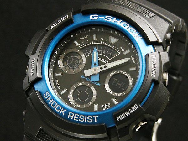 カシオ CASIO Gショック G-SHOCK アナデジ メンズ 腕時計 AW-591-2AJF 国内正規