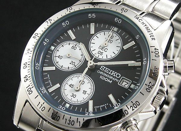 セイコー SEIKO クロノグラフ メンズ 腕時計 SND365