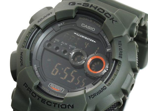 カシオ CASIO Gショック G-SHOCK 高輝度LED メンズ 腕時計 GD100MS-3