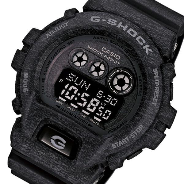 カシオ Gショック ヘザードカラーシリーズ メンズ 腕時計 GD-X6900HT-1 ブラック