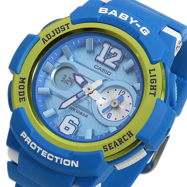カシオ ベビーG BABY-G クオーツ レディース 腕時計 BGA-210-2B ブルー