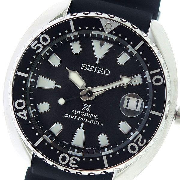 セイコー SEIKO プロスペックス PROSPEX 自動巻き メンズ 腕時計 SRPC37K1 ブラック/ブラック