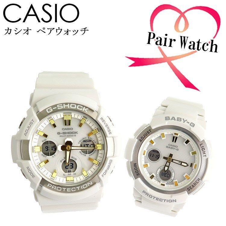 【ペアウォッチ】 カシオ CASIO 腕時計 GAW-100GA-7AJF BGA-2100GA-7AJF 国内正規