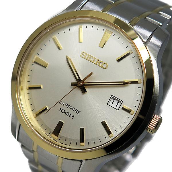 セイコー SEIKO クオーツ メンズ 腕時計 SGEH42P1 シルバー