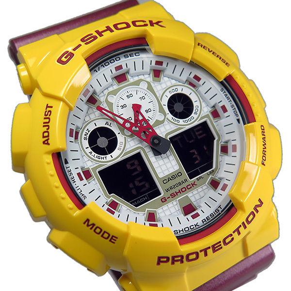 カシオ CASIO Gショック G-SHOCK クオーツ メンズ 腕時計 GA-100CS-9A ホワイト