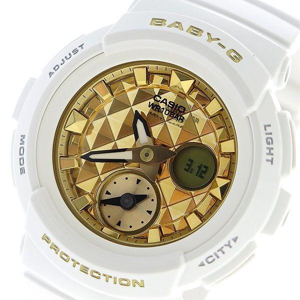 カシオ CASIO ベビーG BABY-G スタッズダイアル クオーツ レディース 腕時計 BGA-195M-7A ゴールド
