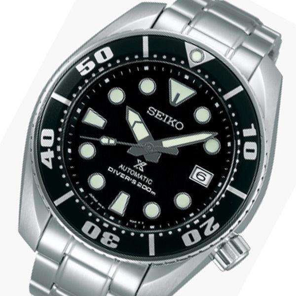 セイコー プロスペックス 自動巻き メンズ 腕時計 SBDC031 ブラック 国内正規