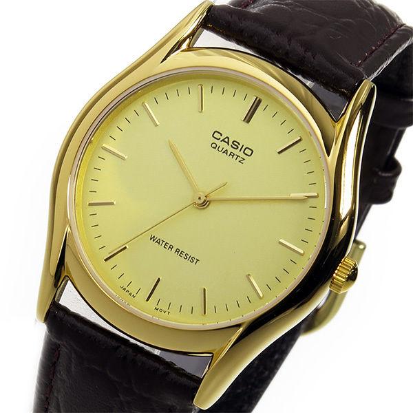 カシオ スタンダード クオーツ ユニセックス 腕時計 MTP-1094Q-9A ゴールド