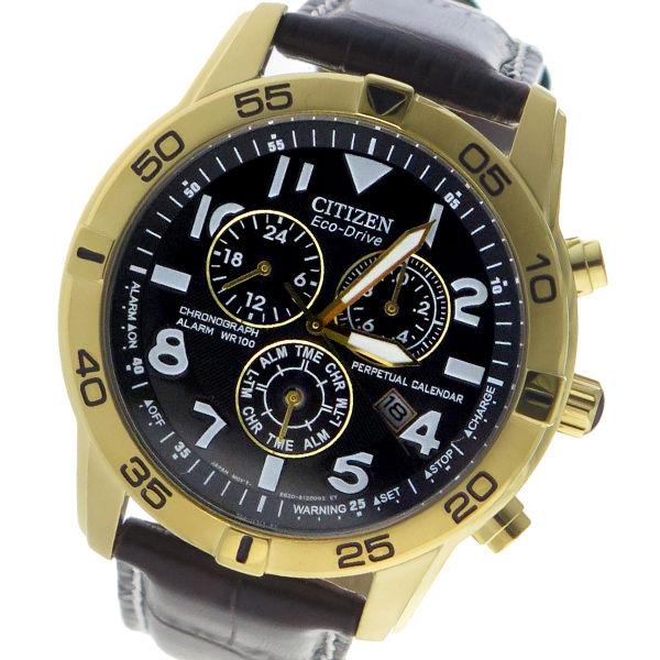 シチズン CITIZEN クロノ クオーツ メンズ 腕時計 BL5472-01E グレー