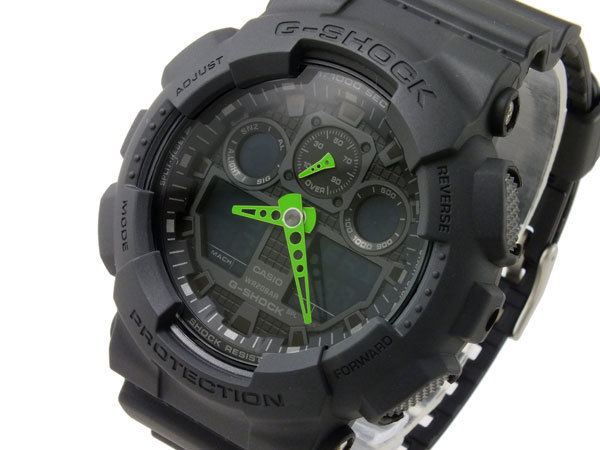 カシオ CASIO Gショック G-SHOCK アナデジ メンズ 腕時計 アナデジ GA-100C-1A3