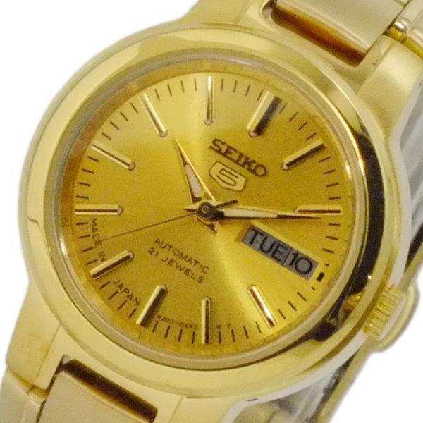 セイコー セイコーファイブ SEIKO 5 日本製 自動巻 レディース 腕時計 SYME46J1