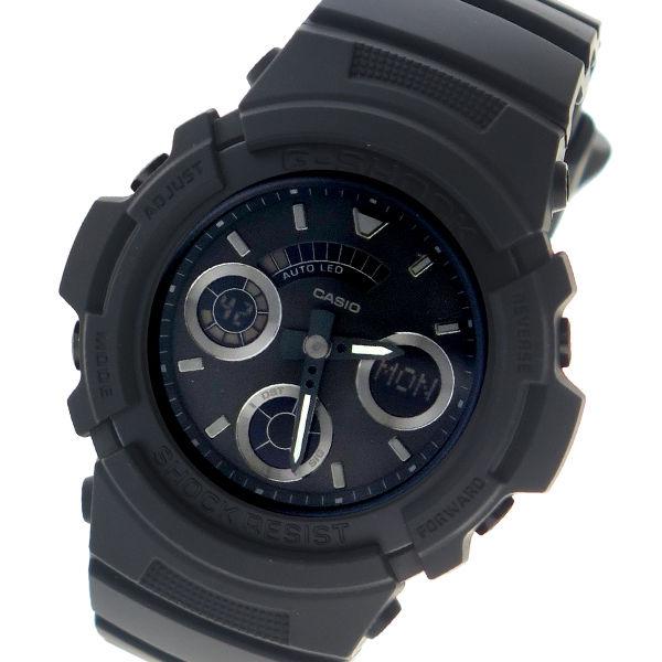 カシオ CASIO G-SHOCK アナデジ クオーツ メンズ 腕時計 AW-591BB-1ADR ダークグレー