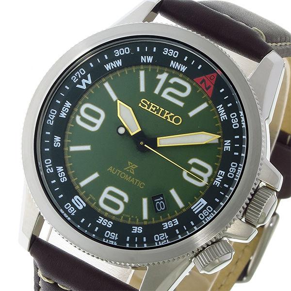 セイコー SEIKO プロスペックス PROSPEX ソーラー 自動巻き メンズ 腕時計 SRPA77K1 グリーン