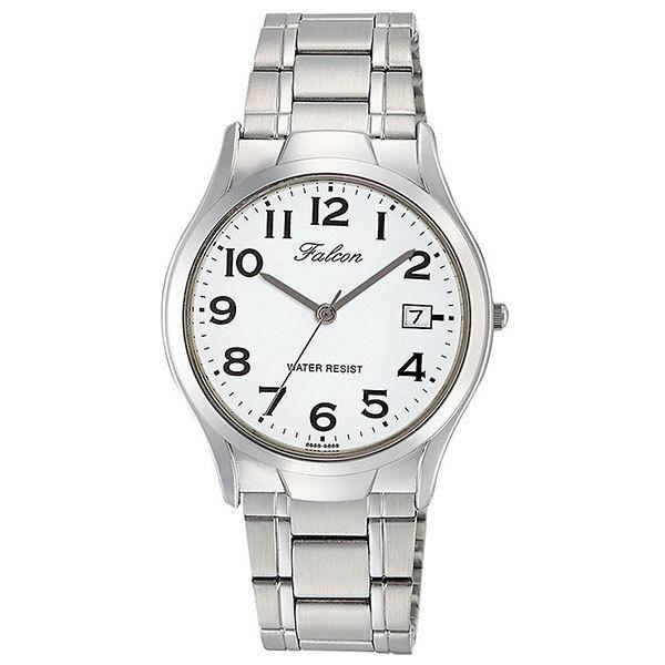 シチズン CITIZEN キューアンドキュー Q&Q ファルコン メンズ 腕時計 D012-204 シルバー